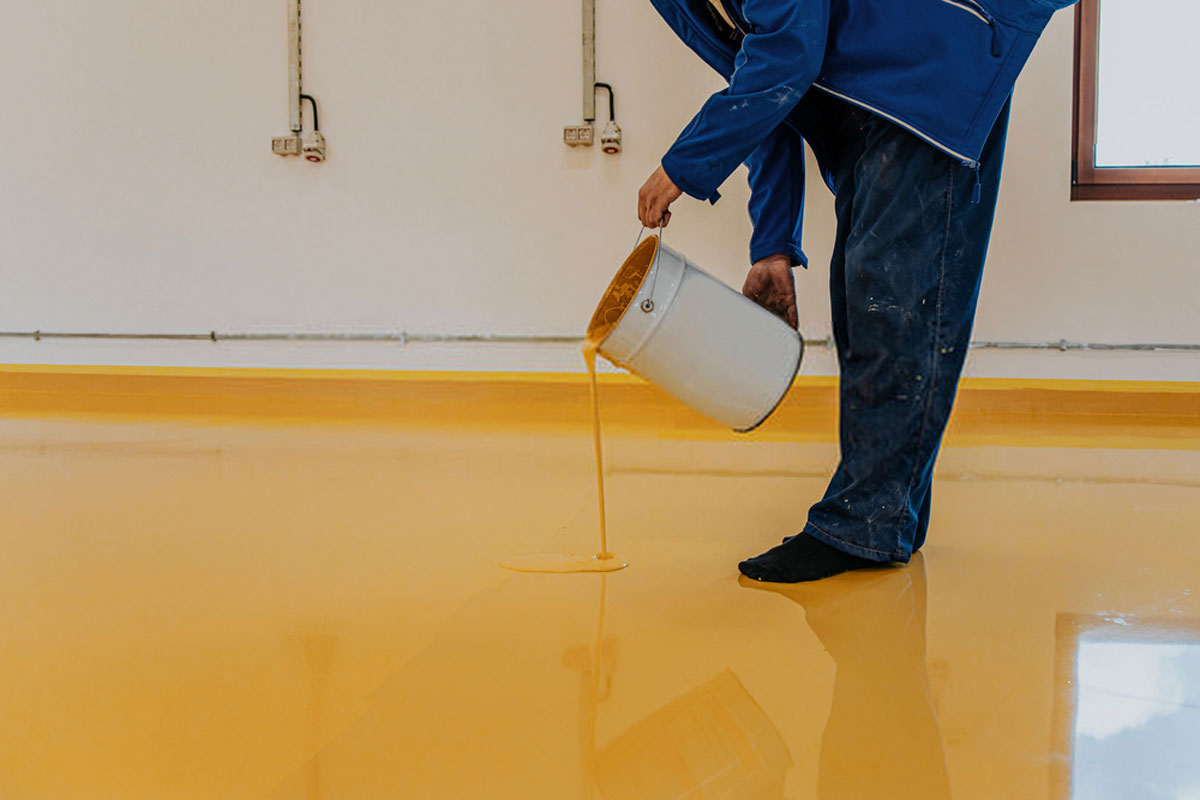 types of epoxy resin flooring